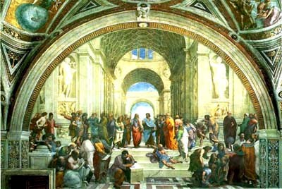 The School of Athens - Sistine Chapel